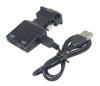 Конвертер VGA(M) - HDMI(F) audio   MicroUSB Power