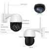 IP Камера с Wi-Fi Робот АУДИО 1080P 3.6mm Белая с Черным