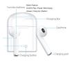 Наушники беспроводные Bluetooth белые