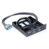 Панель передняя 2 USB3.0 20pin на место Floppy