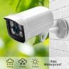 IP Камера с POE Уличная Оптика Металл 3MP 6mm Белая