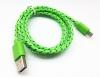 Кабель USBmicro(M) - USB2.0(M) 1метр плетёный