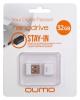 Флеш-накопитель 32Gb USB 2.0 Flash Drive QUMO Nano Black