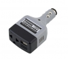 Автомобильный конвертер +USB DC 12V/24V in 110V