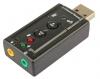 Звуковая USB 2.0 To 3.5mm Audio Adapter 7.1 Channel