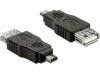 Переходник USBmini(M) - USB(F)
