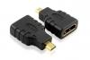 Переходник HDMImicro(M) - HDMI(F)