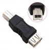Переходник USB Тип B (принтер) - USB(F)