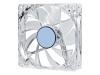 Вентилятор 120х120х25 4LED прозрачный 4Pin molex