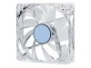 Вентилятор 80х80х25 LED прозрачный 4Pin molex