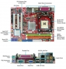Материнская плата MSI 945GCM478 Soc478 (VGA/2DDR2/PCI-E/SATA)