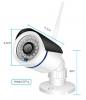 IP Камера с Wi-Fi и АУДИО 4MP (32Gb SD) 8mm Белая